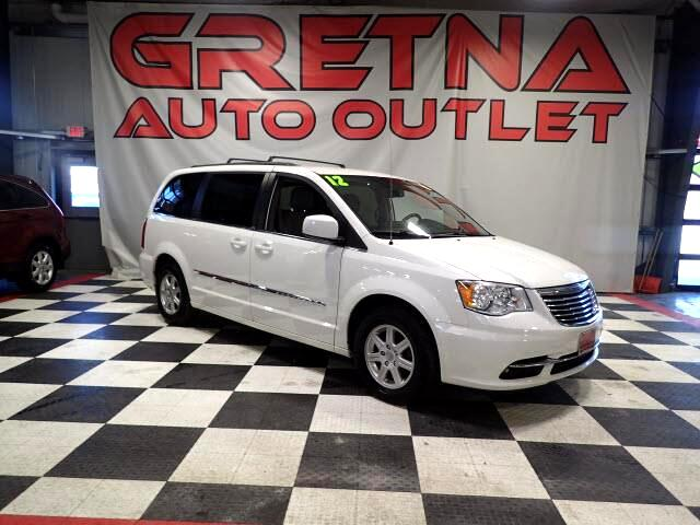 2012 Chrysler Town & Country TOURING AUTO V6 90K LEATHER POWER ALL REAR DVD!