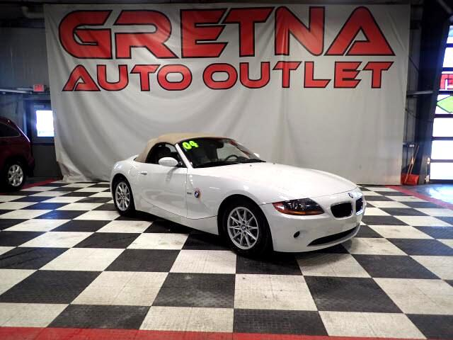 2004 BMW Z4 2.5i CONVERTIBLE AUTO V6 HEATED LEATHER ONLY 74K!