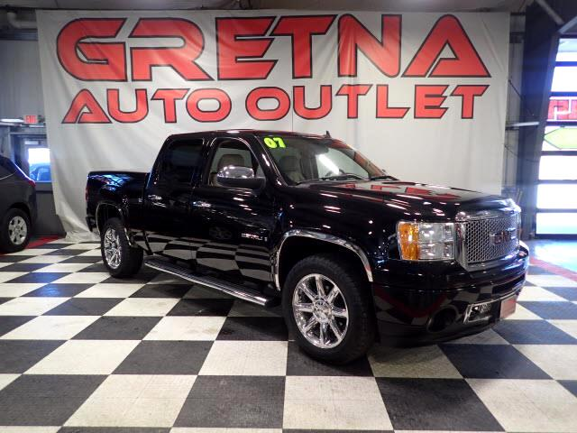 2007 GMC Sierra 1500 DENALI CREW CAB 4X4 HEATED LEATHER TONNEAU COVER!