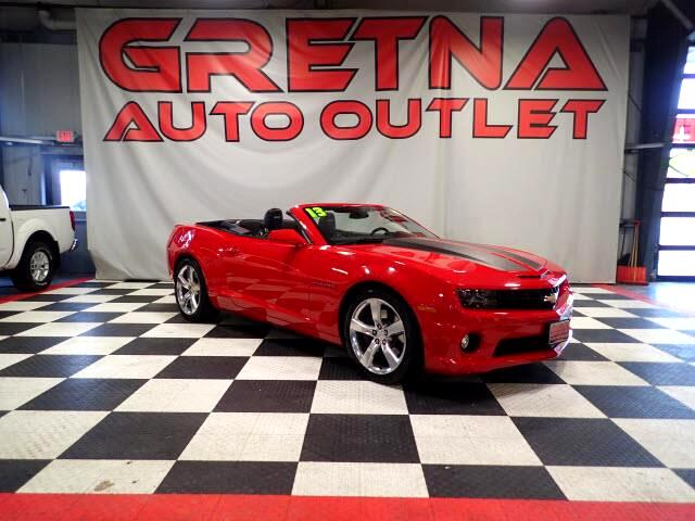 2013 Chevrolet Camaro SS VICTORY RED CONVERTIBLE ONLY 16,972 MILES!