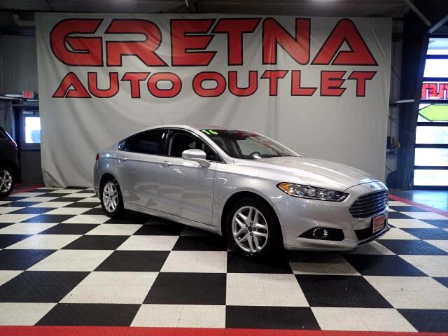 2016 Ford Fusion SE ECBOOST 1 OWNER HEATED LEATHER MOONROOF!