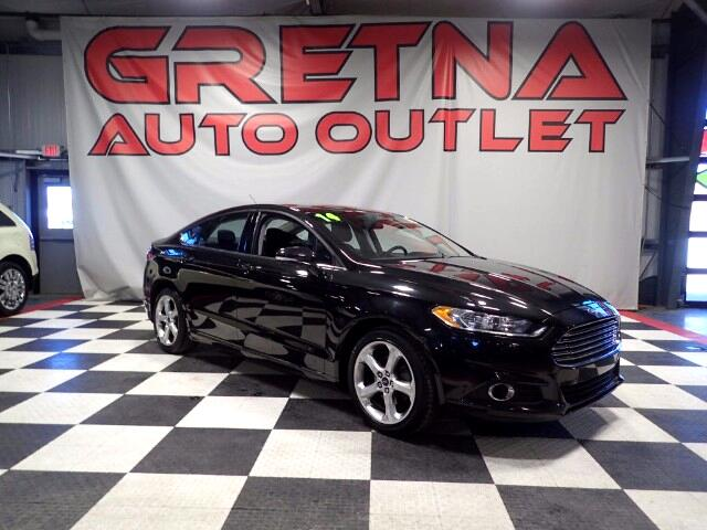 2014 Ford Fusion SE ECOBOOST 1 OWNER ONLY 42K MOONROOF LOADED