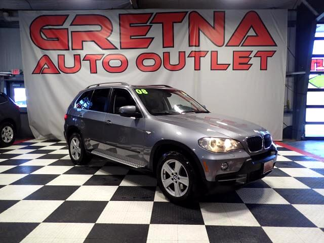 2008 BMW X5 4.8i HEATED LEATHER NAV ROOF DVD 93K!