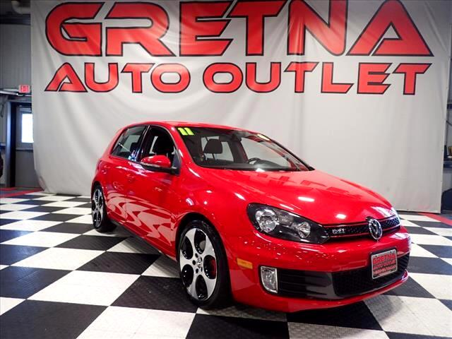 2011 Volkswagen GTI 2.0T 4 DOOR HATCHBACK AUTO LOW MILES 85K SHARP CAR