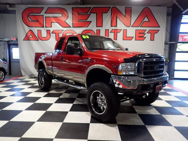 2003 Ford F-250 SD LIFTED UP LARIAT 4X4 V10 UPGRADED RIMS NEW TIRES!