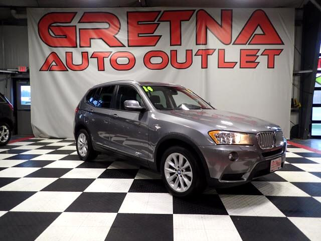 2014 BMW X3 xDrive28i AWD 1 OWNER NAV/CAM HEATED LEATHER ROOF!