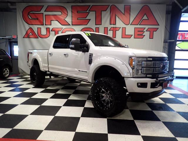 2017 Ford F-250 SD LIFTED UP 1 OWNER PLATINUM DIESEL ULTIMATE PACKAGE