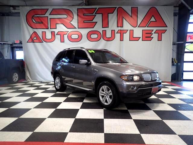 2004 BMW X5 AWD V8 HEATED LEATHER PANORAMIC MOONROOF LOADED
