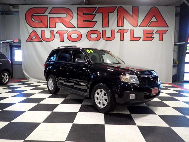 2008 Mazda Tribute AUTO 4X4 HEATED LEATHER! MOONROOF! LOW MILES! V6