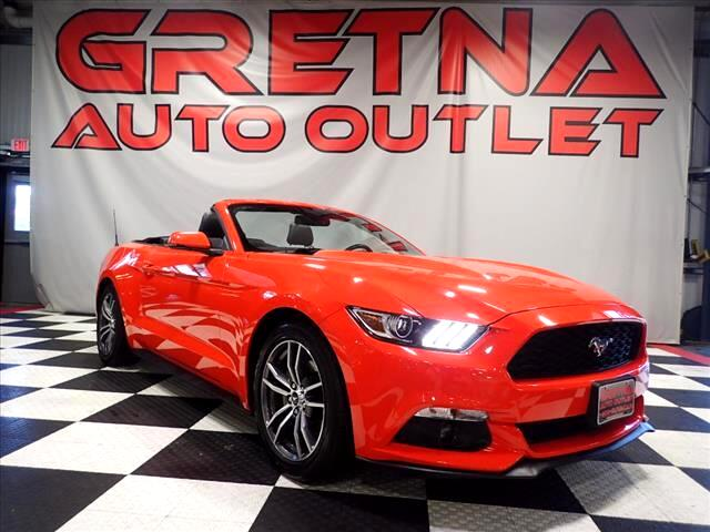 2016 Ford Mustang ECOBOOST PREMIUM CONVERTIBLE HEATED/COOLED SEATS!