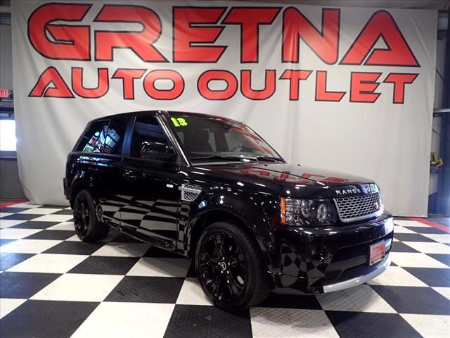 2013 Land Rover Range Rover Sport 5.0L V8 SUPERCHARGED AUTOBIOGRAPHY SPORT AUTO 4X4!