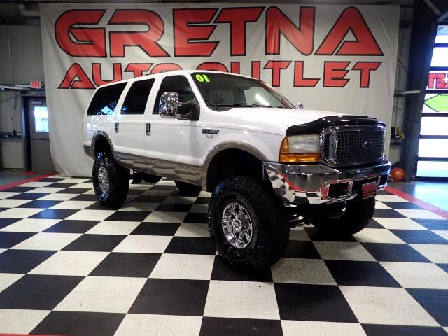 2001 Ford Excursion LIMITED 4X4 LIFTED UP LOADED UP V10 40