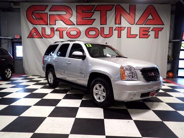 2012 GMC Yukon SLT 4X4 HEATED LEATHER MOONROOF DVD 3RD ROW 79K!