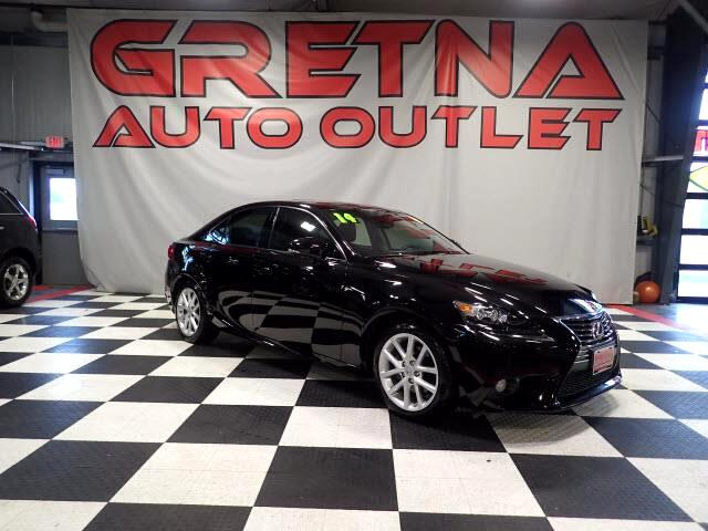 2014 Lexus IS 250 AWD LOW MILES H/C LEATHER ROOF NAVIGATION 27K!
