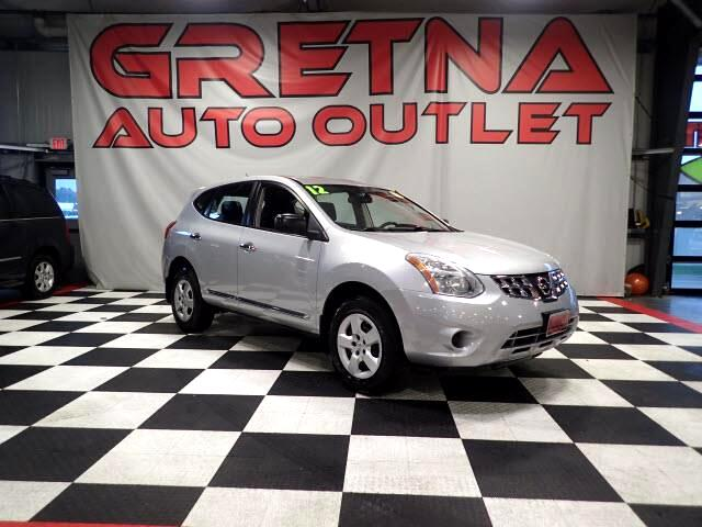 2012 Nissan Rogue S FWD LOW MILES ONLY 77K AFFORDABLE SUV!