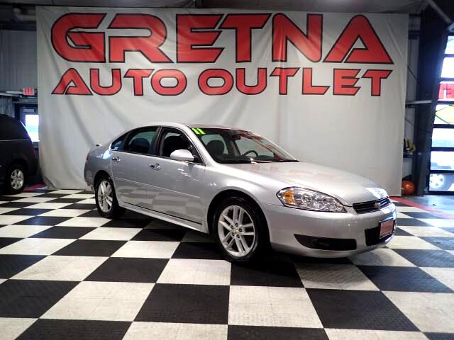 2011 Chevrolet Impala LTZ AUTO 3.9L V6 90K HEATED LEATHER FULLY LOADED!