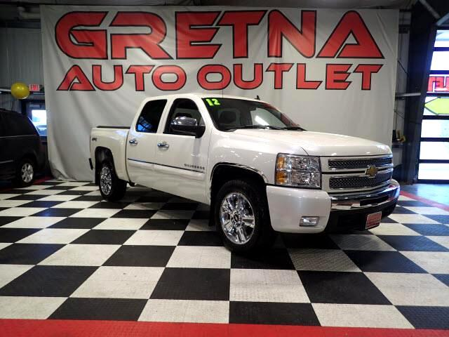 2012 Chevrolet Silverado 1500 LTZ CREW CAB 4X4 HEATED/COOLED SEATS MOONROOF BOSE