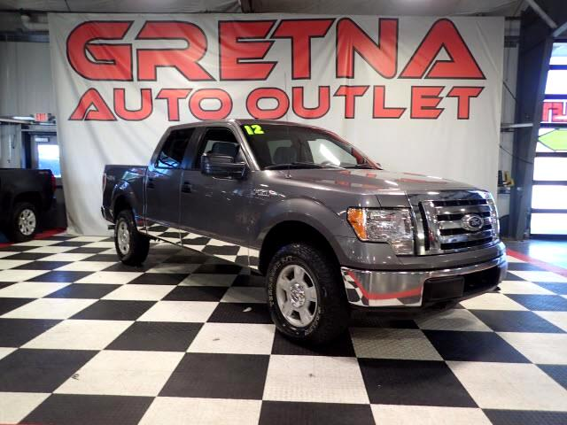2012 Ford F-150 XLT SUPERCREW 4X4 GREAT TIRES AUTO 5.0L V8 LOADED!