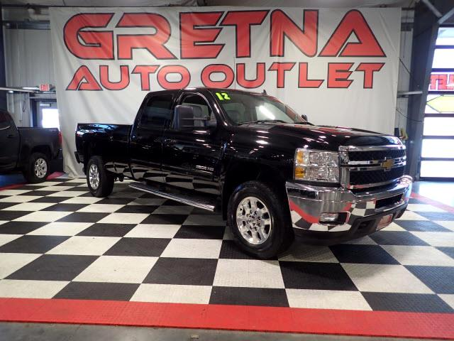 2012 Chevrolet Silverado 3500HD LTZ CREW DURAMAX TURBO DIESEL H/C LEATHER LOADED!