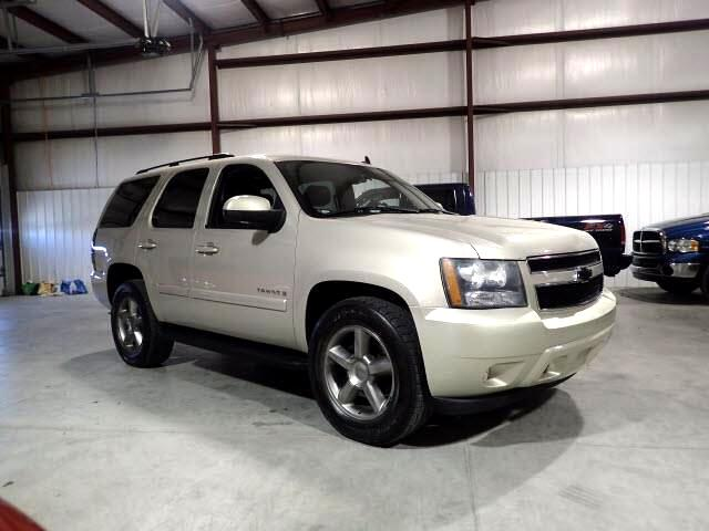 2007 Chevrolet Tahoe LT 4X4 HEATED LEATHER QUADS ROOF DVD 3RD ROW SEAT!