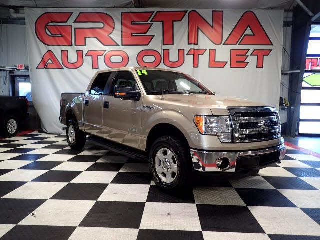 2014 Ford F-150 ECOBOOST SUPERCREW 4X4 FOLDING TONNEAU 109K!