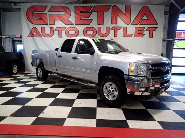 2014 Chevrolet Silverado 2500HD LT CREW CAB LONG BED 4X4 LOW MILES 71K 6.0L V8!