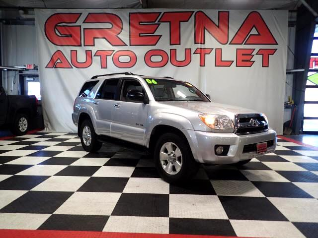 2006 Toyota 4Runner SPORT RALLY 4X4 V6 LOW MILES 111K IMMACULATE SUV!