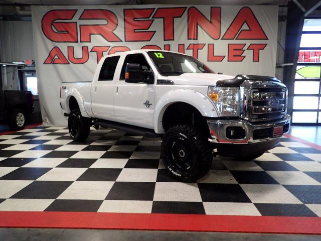 2012 Ford F-350 SD LIFTED LARIAT TURBO DIESEL 4X4 NEW WHEELS & TIRES!