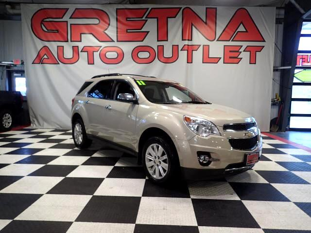 2011 Chevrolet Equinox 1 OWNER LTZ AWD AUTO LEATHER LOADED ONLY 95K!