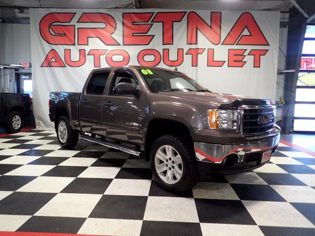 2008 GMC Sierra 1500 SLE CREW 4X4 NEW TIRES ONLY 60,612 MILES LOADED!