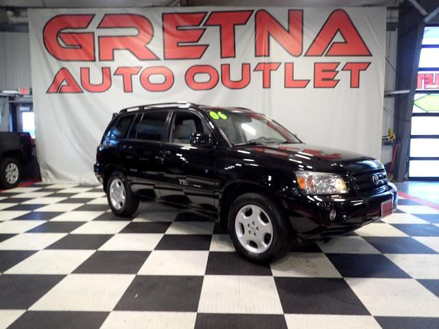 2006 Toyota Highlander LIMITED V6 4X4 HEATED LEATHER MOONROOF ONLY 64K!