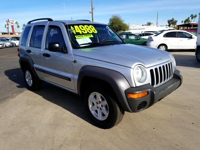 2004 Jeep Liberty Sport 2WD