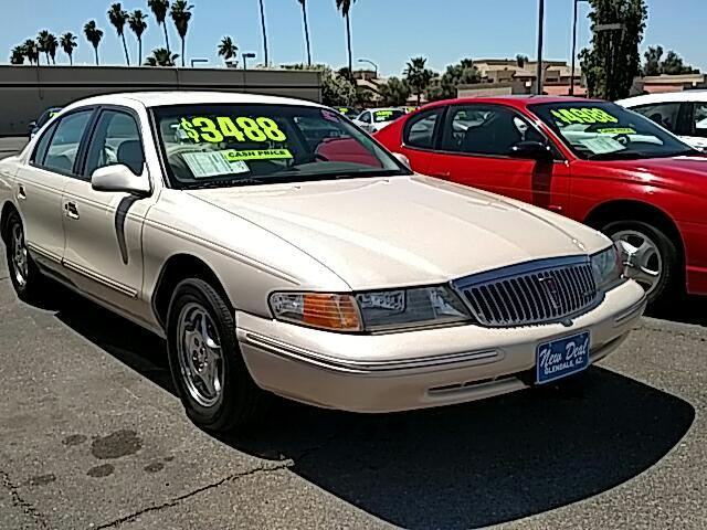 Used 1997 Lincoln Continental For Sale In Phoenix Az 85301