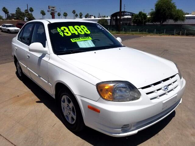2004 Hyundai Accent GL 4-Door