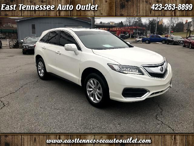 2017 Acura RDX 6-Spd AT AWD w/ Technology Package