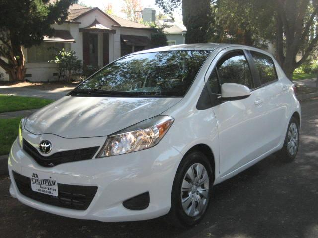 2014 Toyota Yaris Like New Full Factory Warranty Only 3k Miles Clean Title Low Miles Looks Sharp Run