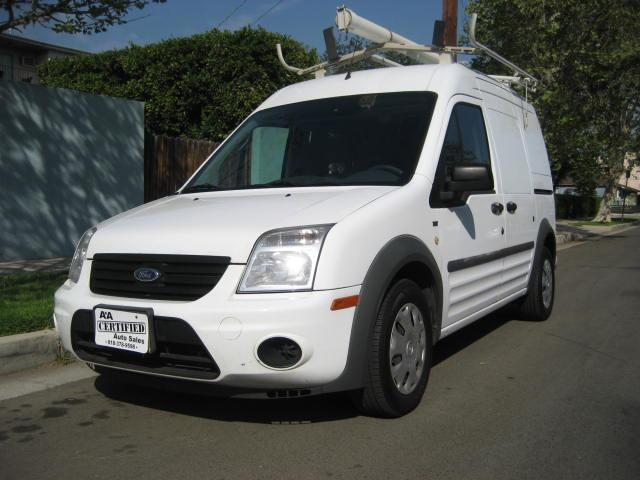 2011 Ford Transit Connect This is a 2011 Ford Transit Connect Cargo XLT Van 4D White with Gray Inte