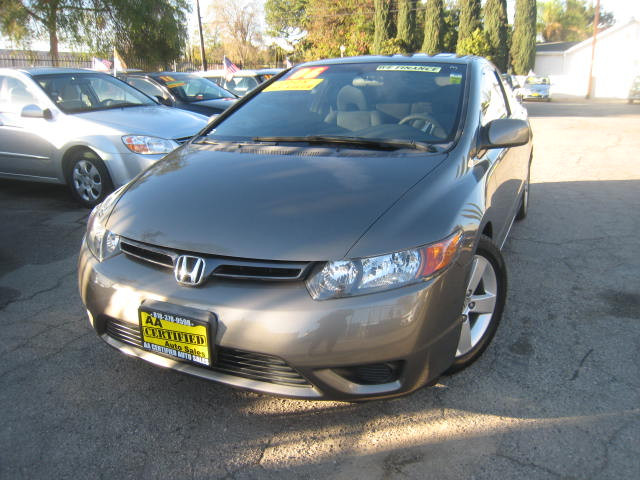 2006 Honda Civic EX Coupe AT with Front Side Airbags
