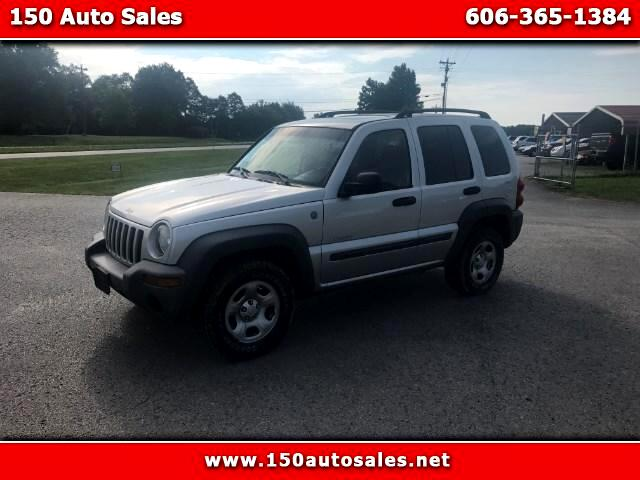 2004 Jeep Liberty 3.7L 4WD
