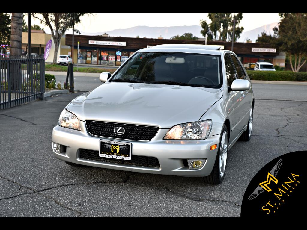 2003 Lexus IS 300 E-Shift Sedan