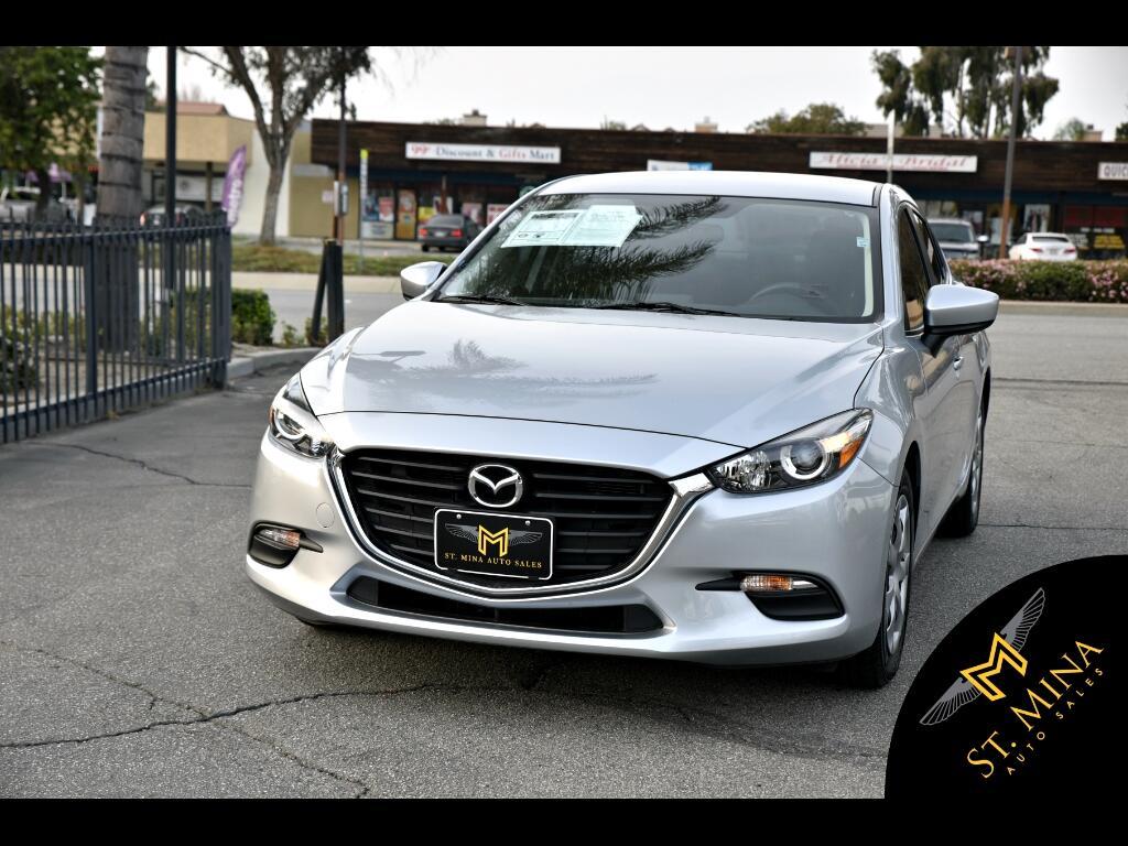 2017 Mazda MAZDA3 i Sport MT 4-Door