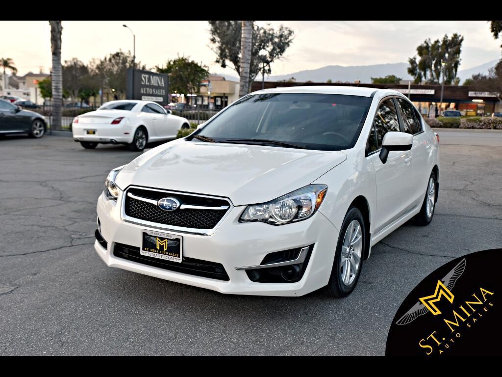 2016 Subaru Impreza 2.0i Premium PZEV 4-Door