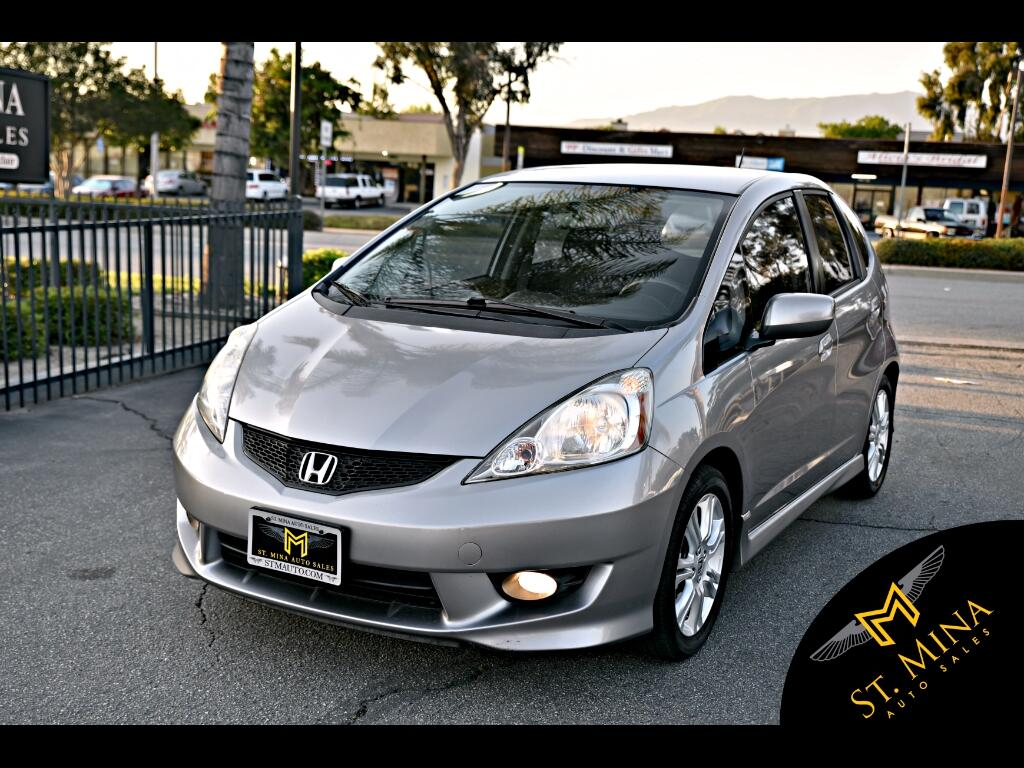 2009 Honda Fit Sport 5-Speed MT