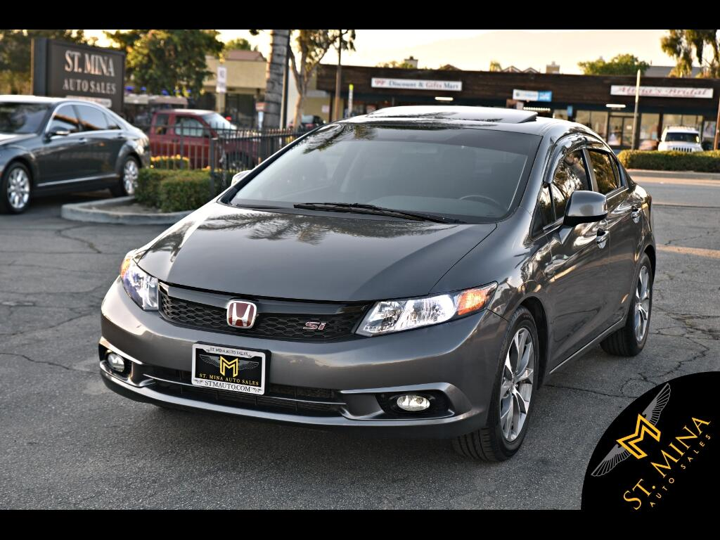 2012 Honda Civic Si Sedan W/Navigation