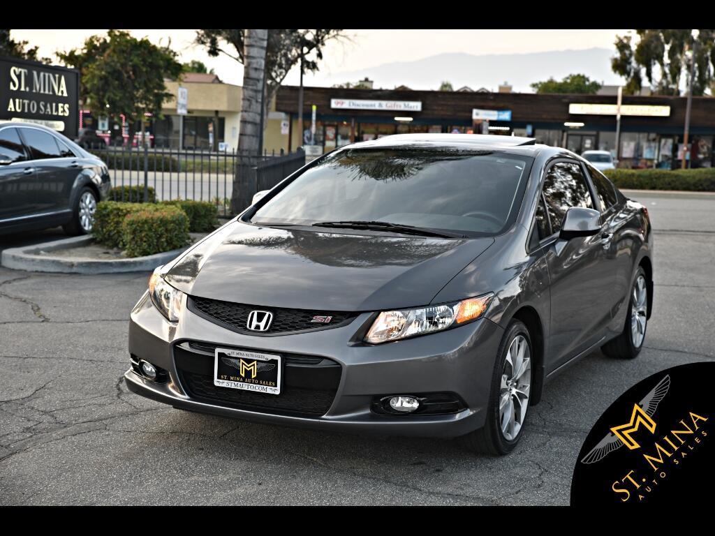 2012 Honda Civic Si Coupe W/Navigation