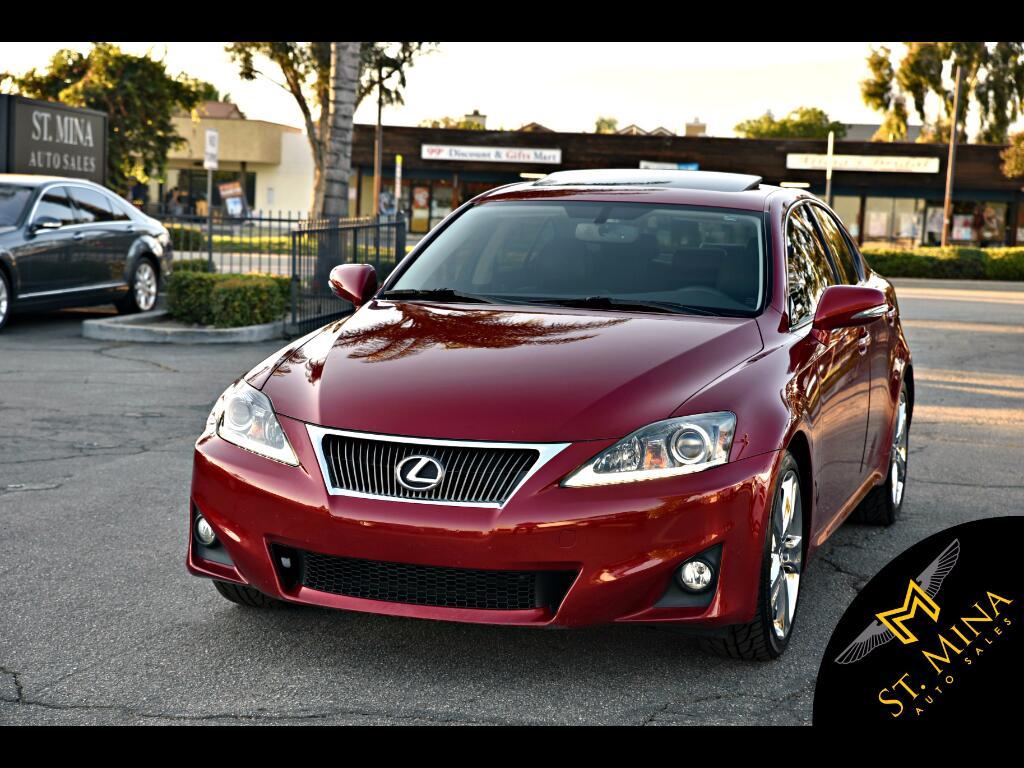 2012 Lexus IS 250 RWD Premium Package