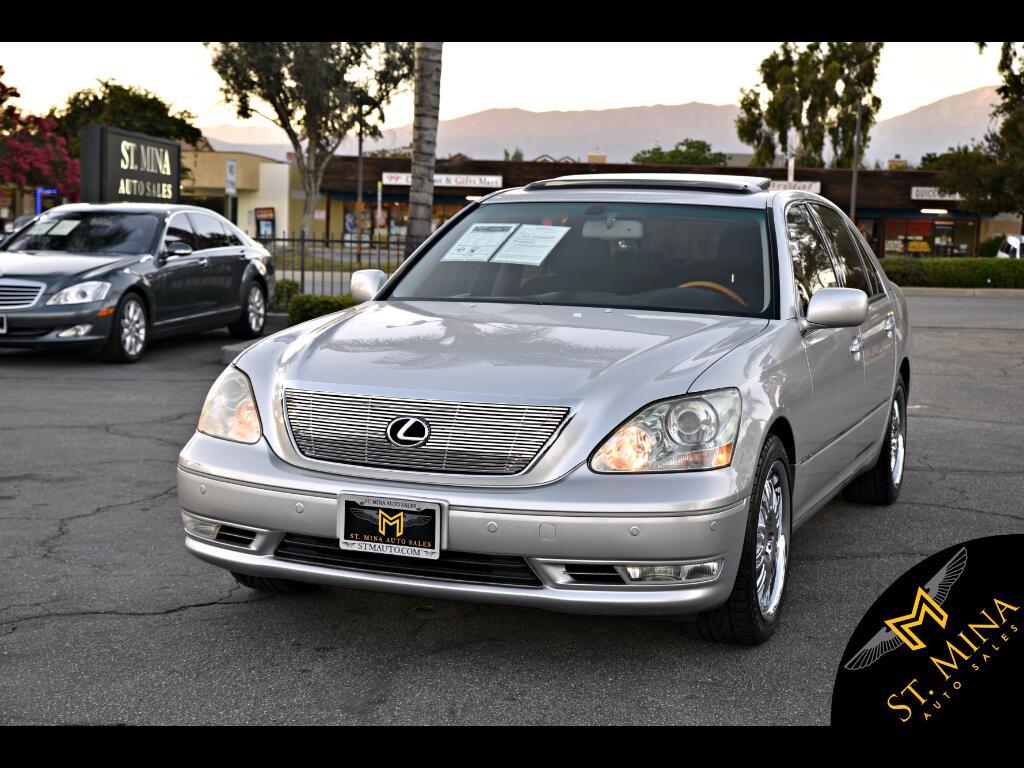 2006 Lexus LS 430 Sedan
