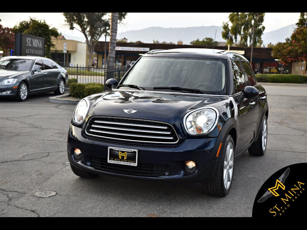2011 MINI Countryman 4-Door Hatchback
