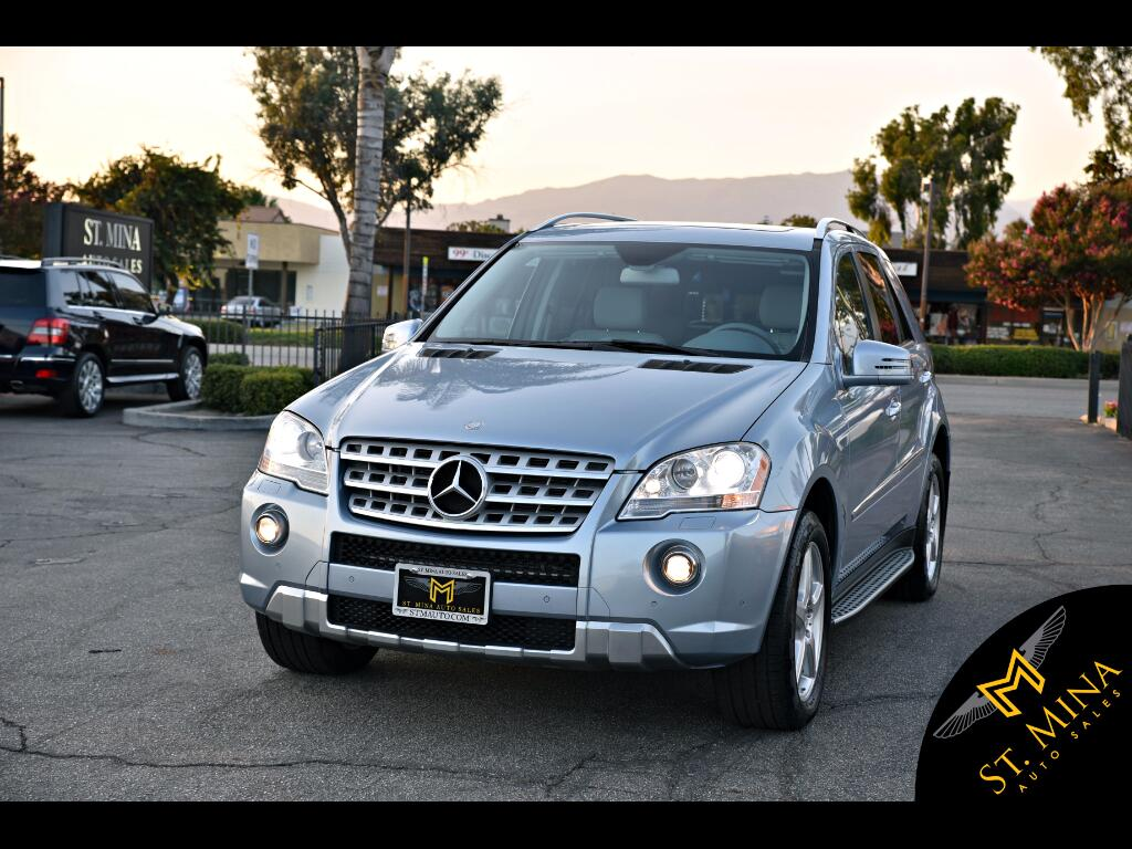 2011 Mercedes-Benz M-Class ML550 4MATIC