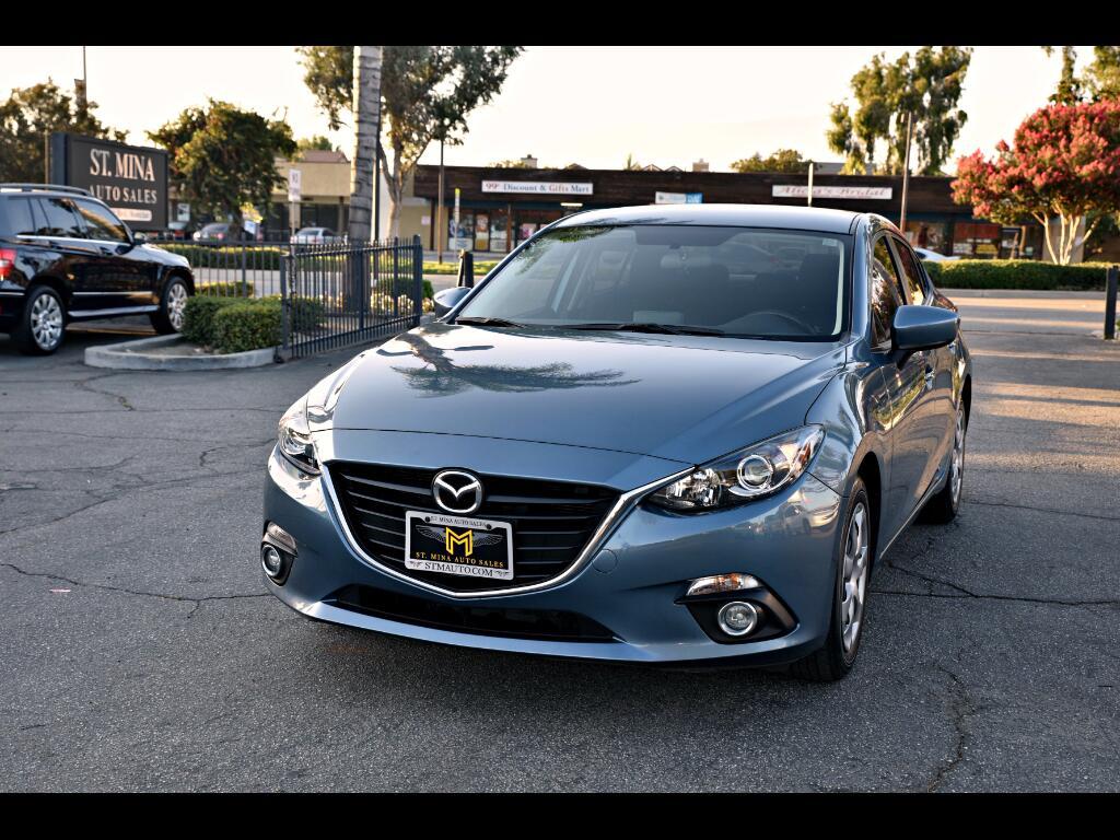 2015 Mazda MAZDA3 i Sport MT 4-Door